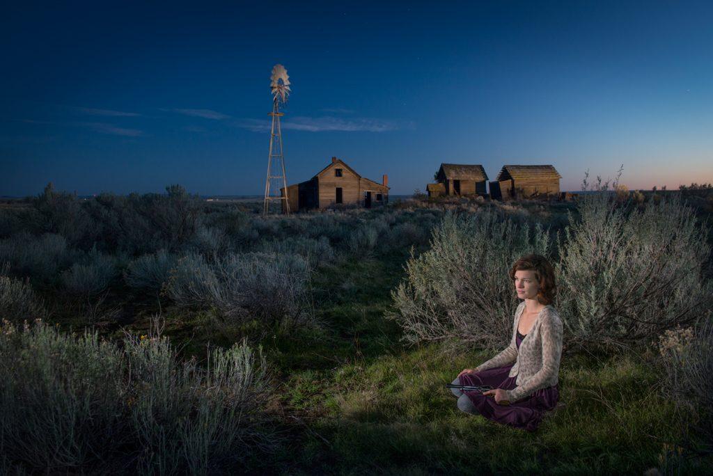 American  Dreamscapes / Homestead II  Shaniko, Oregobn, USA, 2013