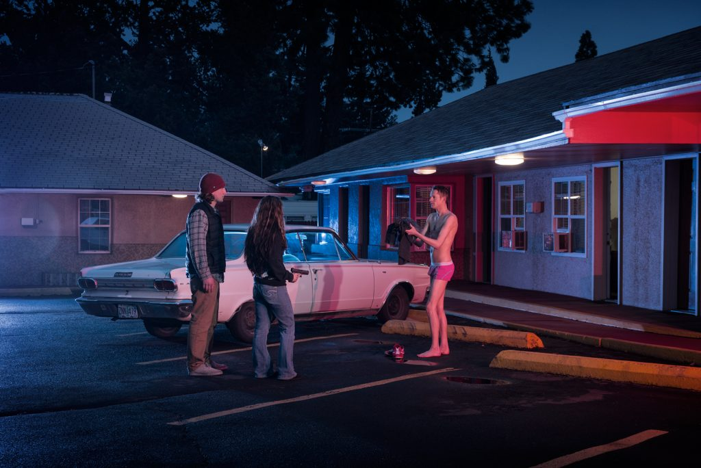 American Dreamscapes  / The Hold Up   Motel, Bend, Oregon, USA 2015