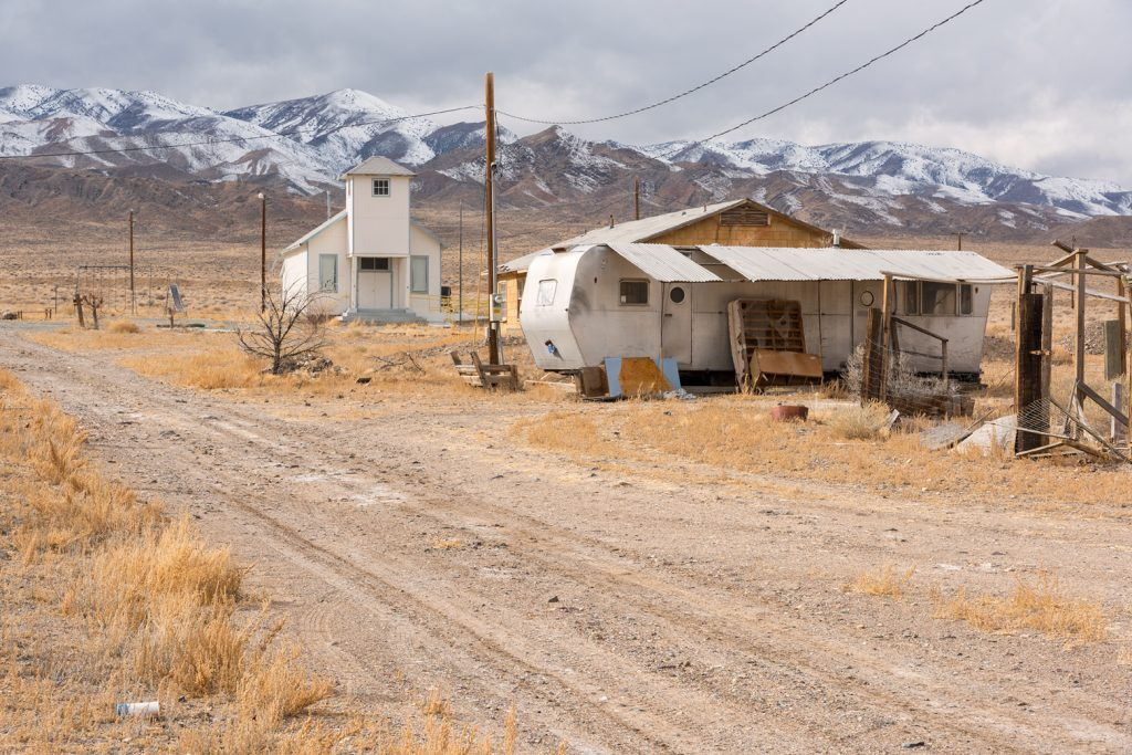 Pax Americana / Church and trailer