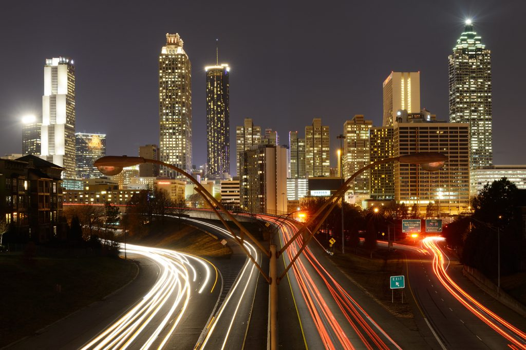 American Nightscapes / Atlanta