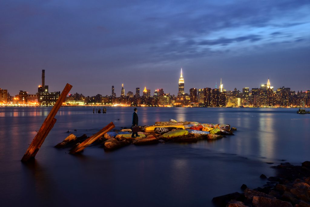 American Nightscapes  / East River