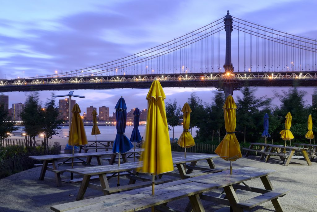 American Nightscapes / Manhattan Bridge